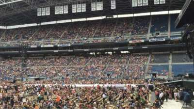 CenturyLink Field, section: 106, row: M, seat: 5