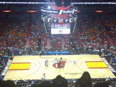 American Airlines Arena section 325