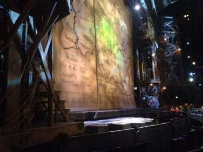 Gershwin Theatre, section: Orchestra L, row: EE, seat: 15
