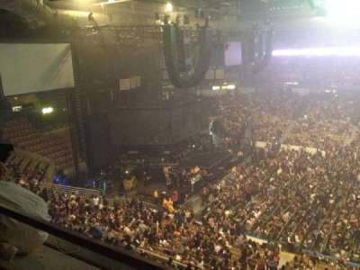 DCU Center, section: 311, row: A, seat: 1