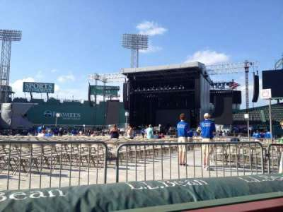 Fenway Park, section: DUGOUT BOX 14, row: 2, seat: 2