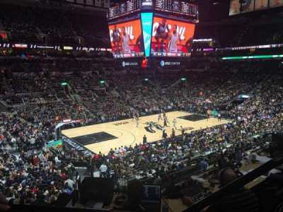 AT&T Center, section: 110, row: 29, seat: 4