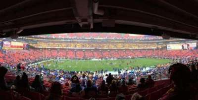 FedEx Field, section: 223, row: 10, seat: 10
