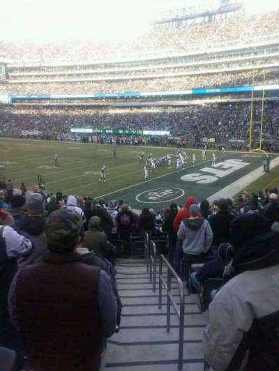 MetLife Stadium, section: 133, row: 20, seat: 1