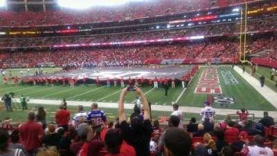 Georgia Dome, section: 110, row: 12, seat: 11
