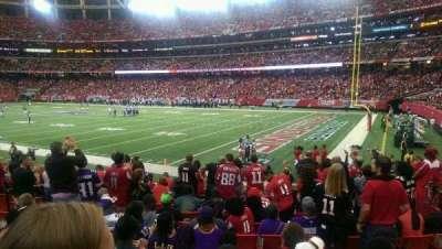 Georgia Dome, section: 110, row: 12, seat: 114