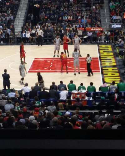 Philips Arena, section: 114, row: YC, seat: 3