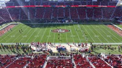 Levi's Stadium, section: 314, row: 1, seat: 26