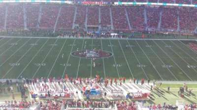 Levi's Stadium, section: 314, row: 1, seat: 26
