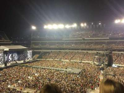 Lincoln Financial Field, section: C2, row: 3, seat: 10