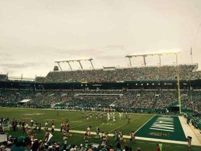 Hard Rock Stadium section 114
