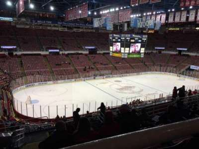 Joe Louis Arena, section: 225A, row: 13, seat: 11