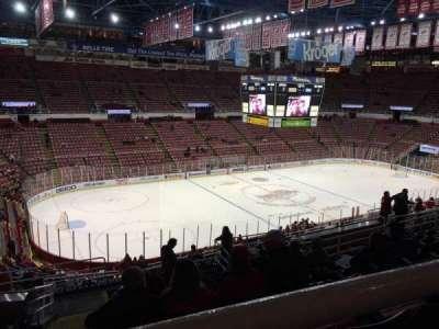 Joe Louis Arena, section: 225A, row: 13, seat: 11