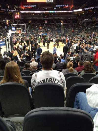 AT&T Center, section: 128, row: 11, seat: 12