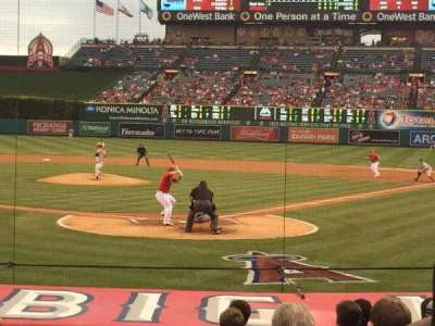 Angel Stadium, section: F117, row: M, seat: 1
