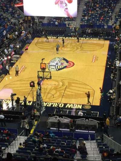Smoothie King Center, section: 307, row: 14, seat: 7