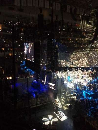 American Airlines Center, section: 222, row: A, seat: 6