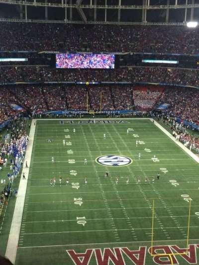 Georgia Dome, section: 310, row: 18, seat: 14