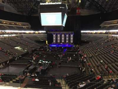 American Airlines Center section 1130