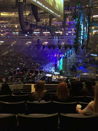 Staples Center section PR2