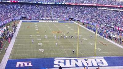 MetLife Stadium, section: 228A, row: 9, seat: 9