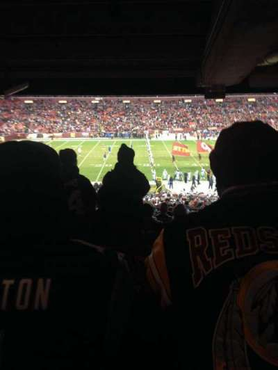 FedEx Field, section: 223, row: 15, seat: 15
