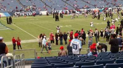 Nissan Stadium, section: 115, row: Q, seat: 15
