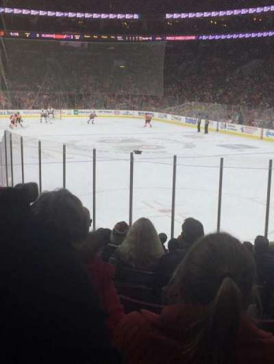 Wells Fargo Center, section: 105, row: 15, seat: 12