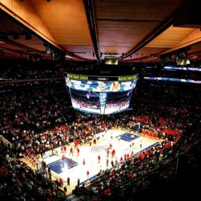 Madison Square Garden, section: 310, row: BS3, seat: 1