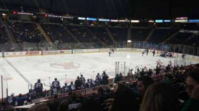 Times Union Center, section: 106, row: M, seat: 15