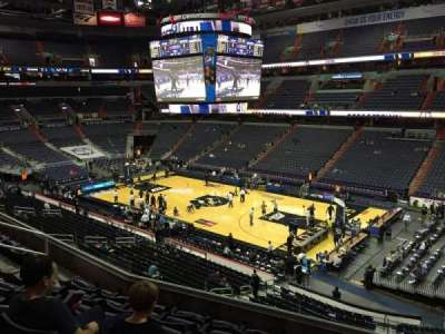 Verizon Center, section: 203, row: F, seat: 11