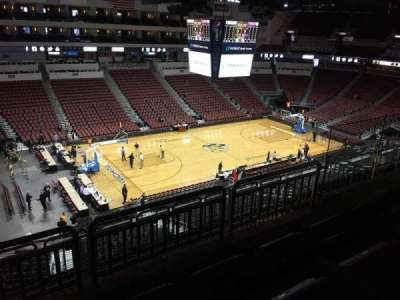 Intrust Bank Arena, section: 218, row: H, seat: 9