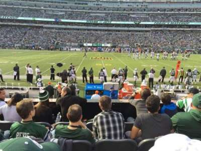 MetLife Stadium, section: 113, row: 5, seat: 16