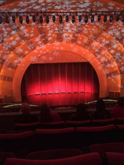 Radio City Music Hall, section: 3rd mezzanine 4, row: D, seat: 413