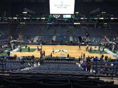 BMO Harris Bradley Center section 200