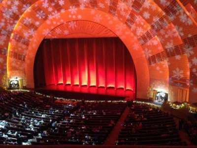 Radio City Music Hall, section: 2 Mezzaine 2, row: A, seat: 201