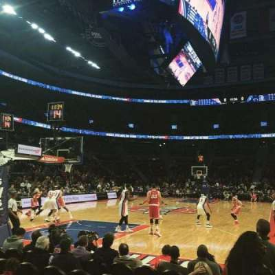 The Palace of Auburn Hills, section: 107A, row: AAA, seat: 1