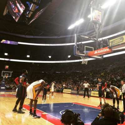 The Palace of Auburn Hills, section: VIP B, row: 2, seat: 9