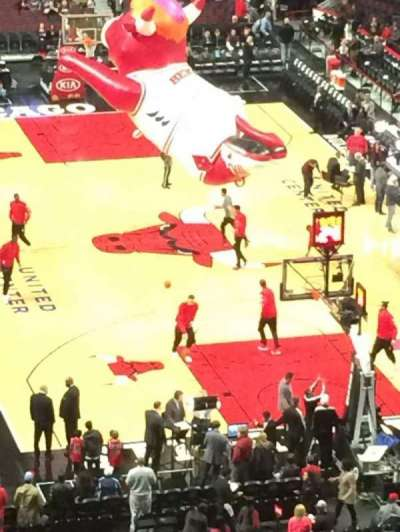 United Center section 311