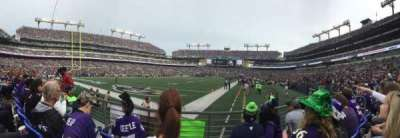M&T Bank Stadium, section: 136, row: 3, seat: 5