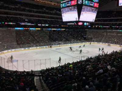 American Airlines Center, section: 1156, row: 1, seat: 4