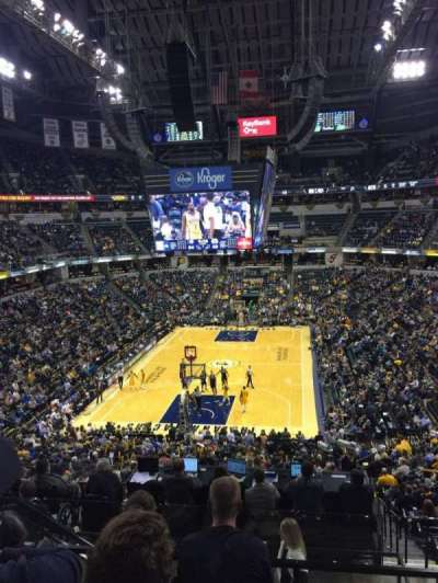 Bankers Life Fieldhouse, section: 20, row: 33, seat: 20