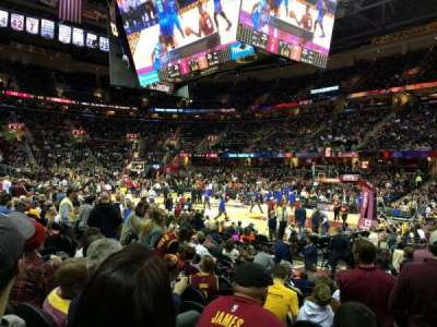 Quicken Loans Arena, section: 211, row: 12, seat: 12