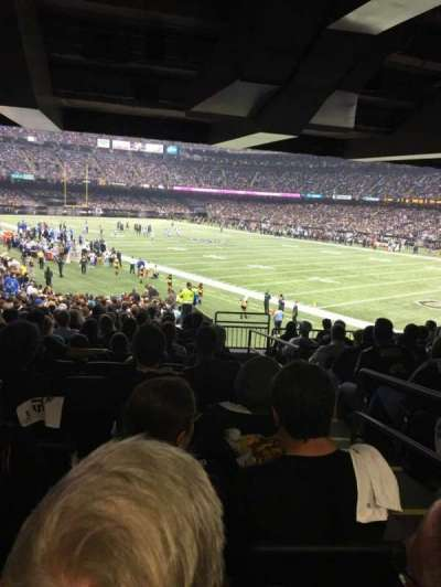 Mercedes-Benz Superdome, section: 107, row: 35, seat: 2