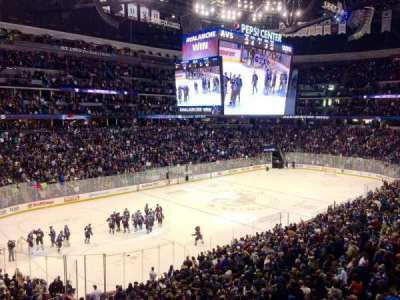 Pepsi Center, section: 132, row: 15, seat: 20