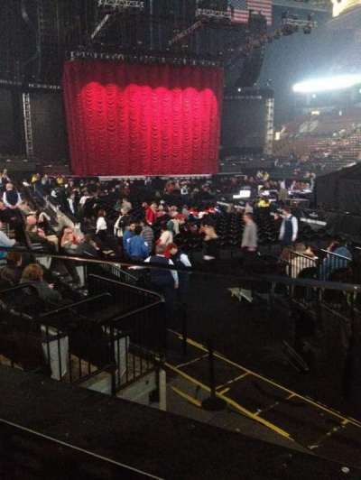 Air Canada Centre, section: 105A, row: 8, seat: 1