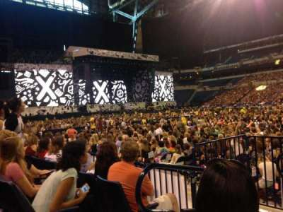Lucas Oil Stadium, section: 139, row: 3, seat: 21