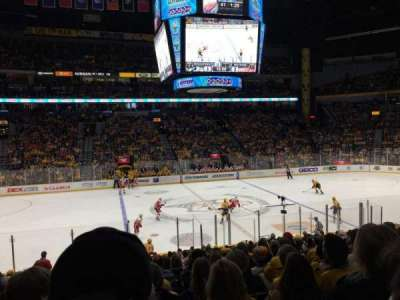 Bridgestone Arena, section: 105, row: H, seat: 14