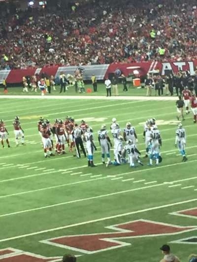 Georgia Dome, section: 128, row: 24, seat: 11