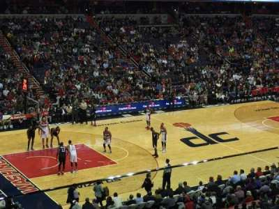 Verizon Center section 212
